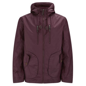 Brave Soul Men's Sweden Jacket - Burgundy