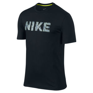 Nike Men's DFCT Urban Camo T-Shirt - Black
