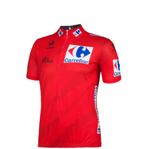 Le Coq Sportif Men's Vuelta Espana Performance Jersey 2014 - Red