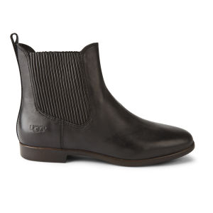 UGG Australia Women's Jo Leather Chelsea Boots - Black