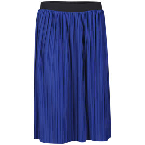 NFS Maxi Women's Must Have Trend Skirt - Shiny Cobalt Black Elas