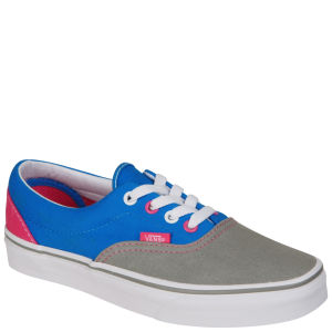 Vans ERA Tri-Tone Canvas Trainers - Grey/Pink/Blue
