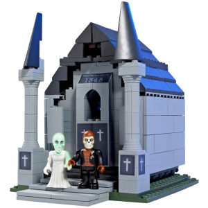 Character Building - Monsters and Zombies Crypt of Terror Playset