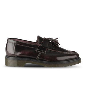 Dr. Martens Men's Adrian Tassel Leather Loafers - Cherry Red