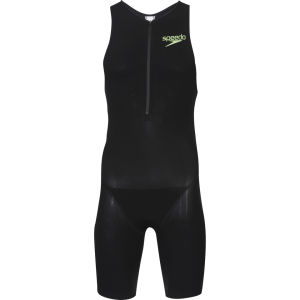 Speedo Men's Triathlon Racer Pro Suit - Black/White/Green
