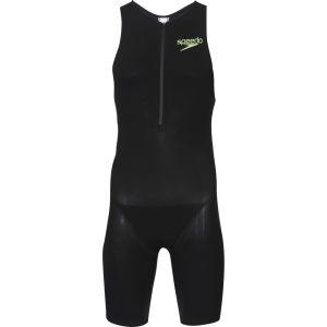Speedo Men's Triathlon Racer Pro Suit - Black/White/Green