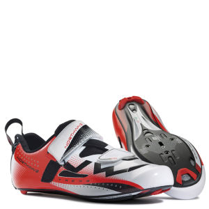 Northwave Extreme Triathlon Cycling Shoes - White/Red