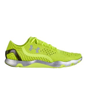 Under Armour Men's Preform RC Running Shoes - High Vis Yellow/Metallic Silver