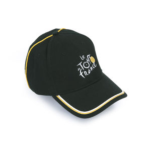 Tour De France Logo Cap - Black/Stripe