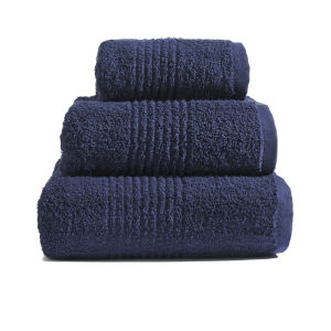 Highams 100% Egyptian Cotton 3 Piece Towel Bale (550gsm) - Navy