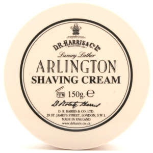 D.R Harris Luxury Lather Shaving Cream Bowl 150g - Almond