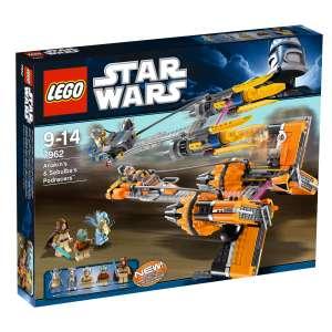 LEGO Star Wars: Anakin's & Sebulba's Podracers (7962)