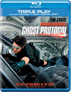 Mission Impossible: Ghost Protocol - Triple Play (Blu-Ray, DVD and Digital Copy)
