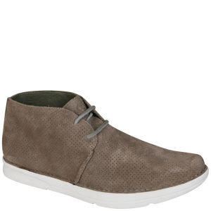 Ohw? Men's Roc Perforated Suede Boot - Olive