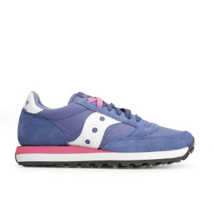 Saucony Women's Jazz Original Trainers - Navy/Pink/White