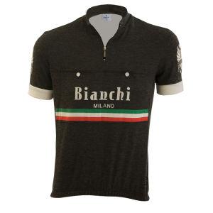 Bianchi Hozan Short Sleeve Jersey - Black