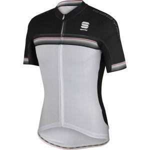 Sportful Bodyfit Pro Aero Jersey - White/Black