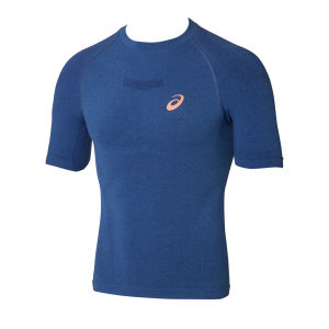 Asics Men's Short Sleeve Running Top - Skyfall Blue