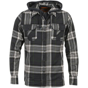 Soul Cal Men's Horizon Shirt - Grey Check