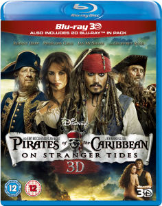 Pirates of Caribbean 4: On Stranger Tides 3D (Bevat 2D Blu-Ray)