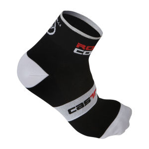 Castelli Men's Rosso Corsa 6 Cycling Socks - Black