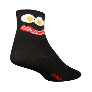 SockGuy Breakfast Cycling Socks