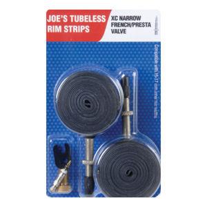Joe's No Flats Rim Strips XC Narrow FV 15-17mm