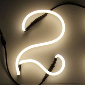 Seletti Neon Font Shaped Wall Light - 2