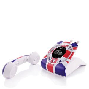 Sagemcom Sixty Digital Cordless Phone - Union Jack (Limited Edition)