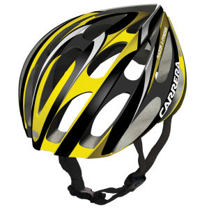 Carrera Razor X-Press 2014 Road Helmet - Gloss Black/Yellow
