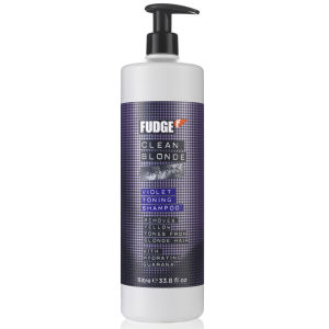Fudge Clean Blonde Violet Shampoo (1000 ml)