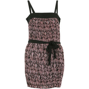 nümph Womens Elsa Pleated Dress - Vision Pink