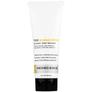 Menscience TiO2 Sunblock SPF 30 100ml
