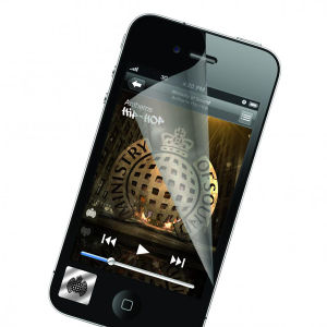 Exspect Ministry of Sound iPhone 4 Screen Protector (Matte)