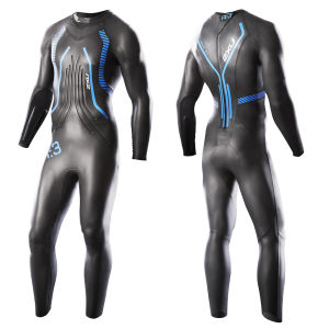 2XU Men's R-3 Race Wetsuit - Black/Blue