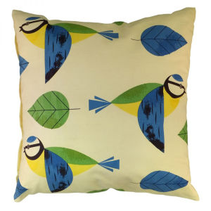 Birdy Cushion - Blue Tit