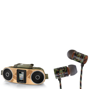 The House of Marley Bag of Rhythm Portable Audio System & Midnight Ravers Earphones with Mic - Revolution