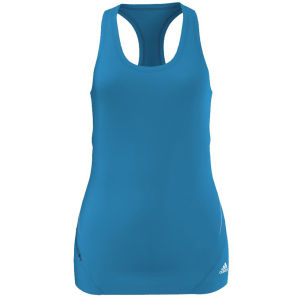 Adidas Women's Square Fit Tank - Solar Blue