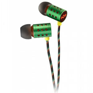 The House of Marley Midnight Ravers Earphones - Rasta