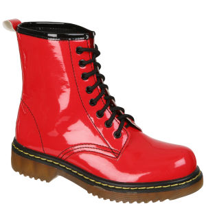 Odeon Women's Lace up Ankle Boots - Red