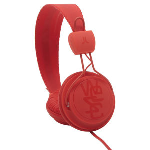 WESC Conga Headphones Matte Hot Orange