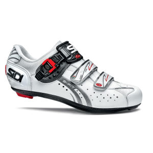 Sidi Genius 5 Fit Mega Carbon Cycling Shoes - White