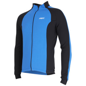 PBK Performance Long Sleeve Cycling Jersey Blue