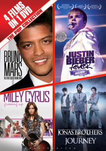 De Pop Verzameling: Bruno Mars, Justin Bieber, Miley Cyrus en The Jonas Brothers