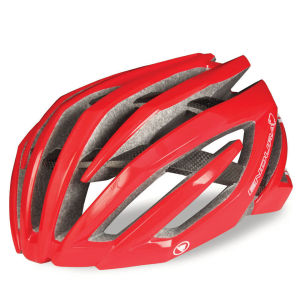 Endura Airshell Helmet Gloss Red