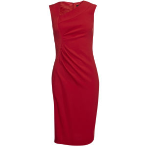 Joseph Women's Abbey Crepe Dress - Red