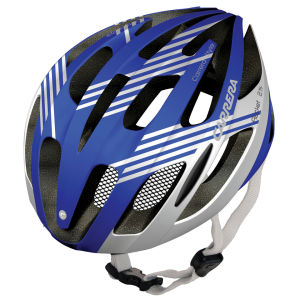 Carrera Rocket Road Helmet Blue/White