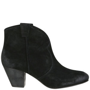 Ash Women's Jalouse Suede Ankle Boots - Black