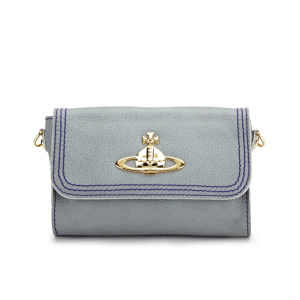 Vivienne Westwood Women's Dolce Leather Cross Body Bag - Aqua