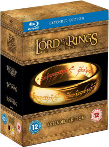 cheap lord of the rings blu ray